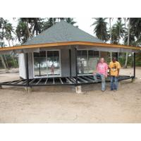 Wholesale New design Prefab Bali Bungalow , Overwater Bungalows For Seaside from china suppliers