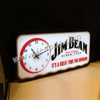 Wholesale JIM BEAM LED Sign with Clock from china suppliers