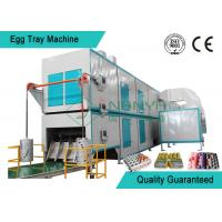 Wholesale Big Capacity Rotary Pulp Fruit Tray / Egg Tray Forming Machine With Multi Layer Dryer from china suppliers