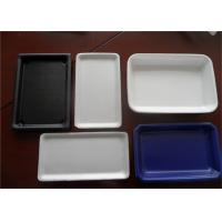 Wholesale Hamburger Plastic Packaging Trays , Rectangular Serving Tray Easy Cleaning from china suppliers