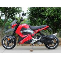 Quality Single Cylinder Four Stroke 50cc Adult Motor Scooter CVT 60 Km/H for sale
