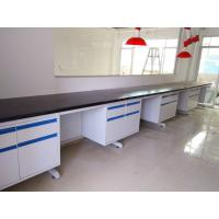 Buy cheap Durable Customized  Modular Chemistry Lab Wall Bench With Full Steel  Structure Furniture from wholesalers