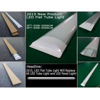Wholesale 600mm Led Light Tubes , CE RoHS 2835 LED Flat Tube Light from china suppliers