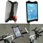 Universal Adjustable Rotatable Bike Mount Holder for 7 - 11 inch Tablet PC