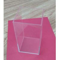 Wholesale Retail Small Acrylic Tableware Transparent Shoe Boxes Without Lid For Storage from china suppliers