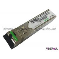 Buy cheap 1550Tx/1490Rx Single Fiber SFP Optical Transceiver 1000M Maximum Distance 60KM from wholesalers