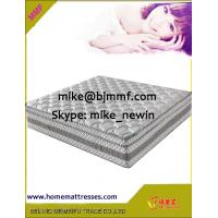 Wholesale King Coil Euro top Pocket Spring Mattress with Natural Latex and 3D Air Mesh from china suppliers