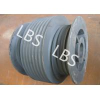 Quality Stainless Steel Variable Diameter Wire Rope Drum For Hoist Machinery for sale
