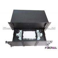 Wholesale Large Capacity Rack Mounted Fiber Optic Patch Panel 96 To 144 Fiber Terminal Box from china suppliers