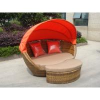 Wholesale Building Balcony Waterproof Outdoor Rattan Daybed With Table from china suppliers