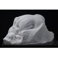 Wholesale art sculptures with nature white marble, polished from china suppliers