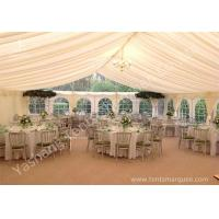 Quality Wedding Reception Marquee / Luxury Wedding Marquee Tent with Anodized Aluminum for sale