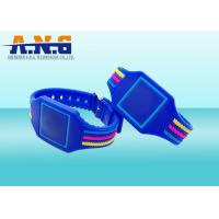 Wholesale Contactless Security Access Rfid Wristbands Silicone , Smart rfid bracelet from china suppliers
