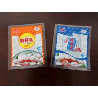 Wholesale Three Sides Sealing Food Plastic Bag PA / PE Die Cut Stand Up Packaging from china suppliers