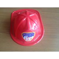 Wholesale promotional gift children toy PVC RED FIRE HAT from china suppliers