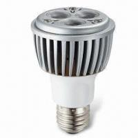 Buy cheap 3 x 3W Cree Dimmable PAR20 LED Bulb, Measures 60 x 85mm, with 300 to 407lm Luminous Flux from wholesalers