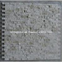 Wholesale Cream Marfil Split Face Marble Mosaicstone Tile from china suppliers