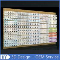 Wholesale Mobile phone shop interior accessories wall display,cell phone store floor standing display racks with custom size logo from china suppliers