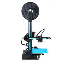 Buy cheap HICTOP Portable Easy assembly 3D Printer DIY Kit with Heated Build Plate, Includes Micro SD card 150x150x200mm from wholesalers