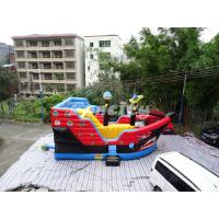 Wholesale Pirate Ship Inflatable Jumping Castle Commercial Bouncy Castle For Amusement Park from china suppliers
