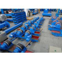 Wholesale Pressure Vessel Welding Rotator / Welding Turning Roll With 2 * 0.37KW Motor Power from china suppliers