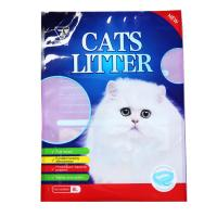 Wholesale Wholesale Cheap Price Custom Colorful Print 5L 6L 10L Stand Up Plastic Pet Cat Litter Bags from china suppliers