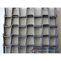 Wholesale The Great Wall Type Mesh Belt, SS304, SS316 and Galvanized Steel Materials from china suppliers