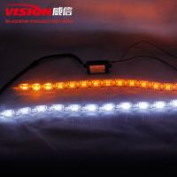 Wholesale Iphcar wholesale car accessories DRL 12V Elliptical crystal telescopic daytime running light for automobile Toyota/Vios from china suppliers