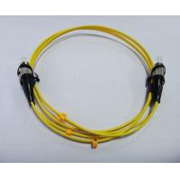 Wholesale Low insertion loss, high return loss ST / PC SM DX 2.0mm, Fiber Optic Patch Cord from china suppliers