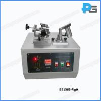 Buy cheap Key Type BS1363-1 Figure 9 Apparatus for abrasion test on insulating sleeves of plug pins from wholesalers