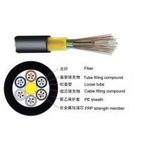 Wholesale Single Jacket None Metallic Outdoor Fiber Optic Cable GYFTY With Small Diameter from china suppliers