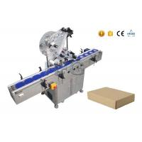Wholesale HIG servo SUS304 box automatic sticker labeling machine with CE certificate from china suppliers