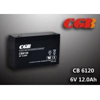 Wholesale CB6120 charging high capacity AGM Lead Acid Battery 6V 12AH Anti Erosion Alarm System from china suppliers
