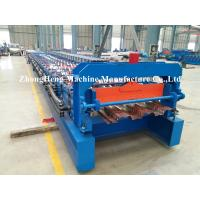 Wholesale 1.2mm Thickness steel Decking floor roll forming machine with high stengthen power from china suppliers