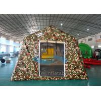 Wholesale Big Camouflage Wall Inflatable Military Tent 12 Person Heat Sealed from china suppliers
