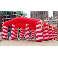 Quality 12m Red Candy Marquee, Inflatable Wedding Tent for Wedding and Party for sale