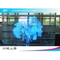 Wholesale SMD 3 In 1 10mm Transparent LED Screen Board 1R1G1B , Full Color Led Signs from china suppliers