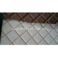 Wholesale Commercial upholstery rubber fabric laminated car mat flooring 3mm thick from china suppliers