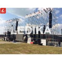 Speaker Stands Multipurpose Steel Layer Truss For Outdoor Big Concert Events