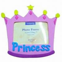 Wholesale Girl's Favorite Princess EVA Photo Frame, Available in Various Designs and Colors from china suppliers