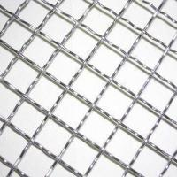 Wholesale Stainless Steel Crimped Mesh, 301/304/316/316L, 0.1-3mm Hole Size, 0.1-8mm Dia, 0.5-6.0m Mesh Width from china suppliers