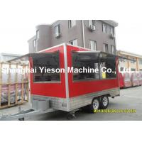 Wholesale Professional Mobile Food Trailers Commercial Large Street Food Vehicles from china suppliers