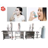 Wholesale Semi Automatic Nasal Spray Filling Machine , Salbutamol Spray Filling Machine from china suppliers