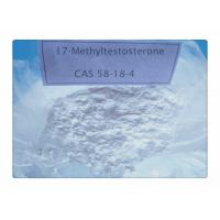 Wholesale Anabolic Steroid 17-Methyltestosterone Mesterone CAS 58-18-4 For Muscle Gaining from china suppliers