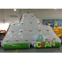 Wholesale Commercial Grade Inflatable Climbing Wall Inflatable Iceberg For Sport Game from china suppliers