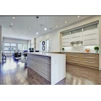 Wholesale Simple Tranditional Wood Veneer Kitchen Cabinets , Maple Kitchen Cupboards from china suppliers