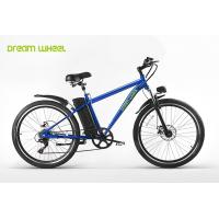 Wholesale MTB style 26 inch wheel aluminum frame electric mountain bike with Shimano derailleur from china suppliers