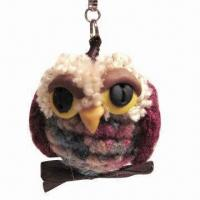 Wholesale Stuffed Plush Keychain, Cute Design, Soft Tactility and OEM Orders Welcomed from china suppliers