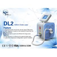 Wholesale Super Cooling Germany Bars Portable 808nm Diode Laser Body Hair Removal Machine from china suppliers
