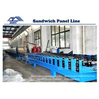 Wholesale High Press Foaming  PU Sandwich Panel Machine For Roof Sandwich Panel from china suppliers